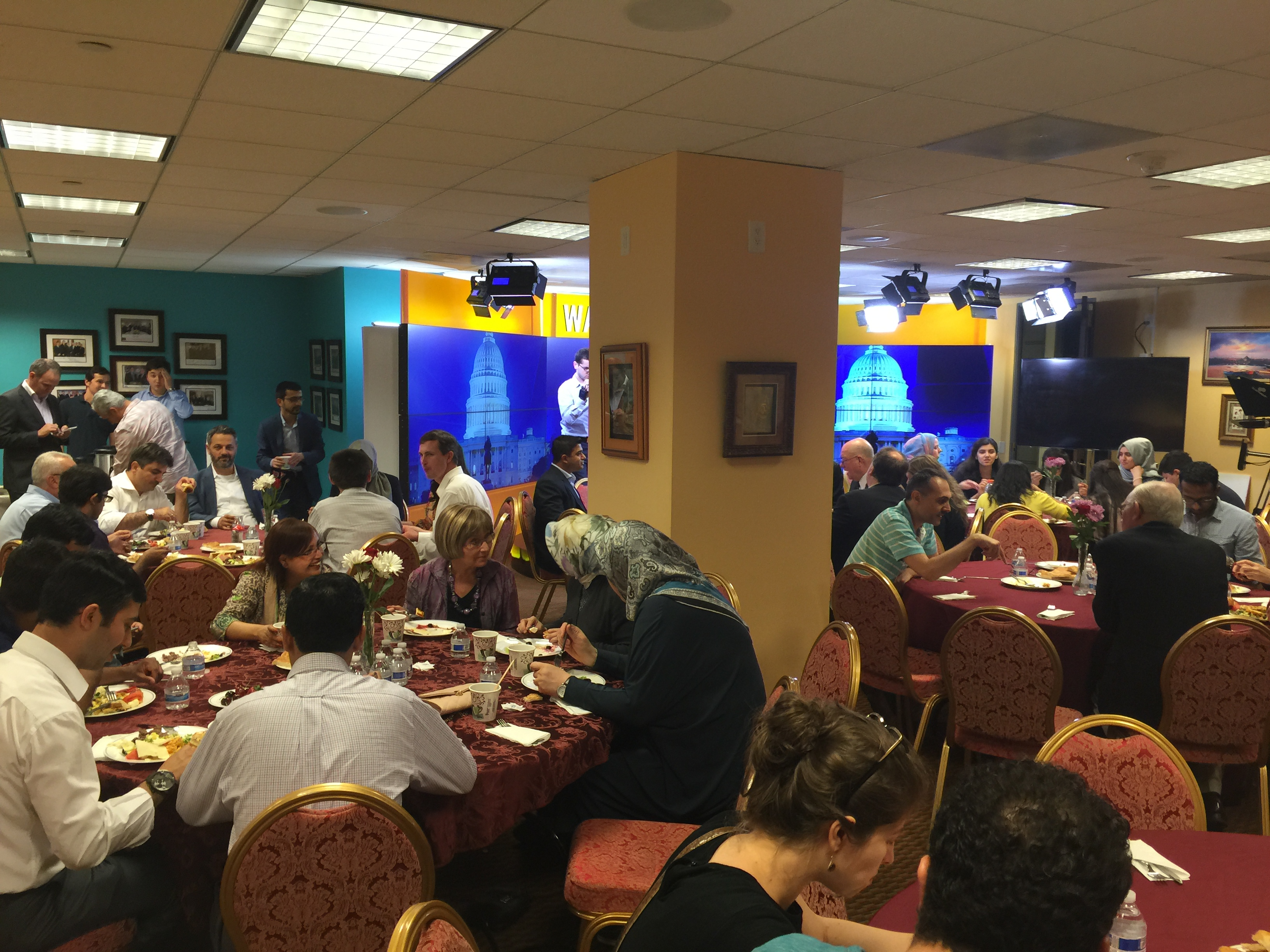2nd Annual Suhoor full house-#interfaith #ramadan  #dialogue #friendship Thank you DC for a great  night!