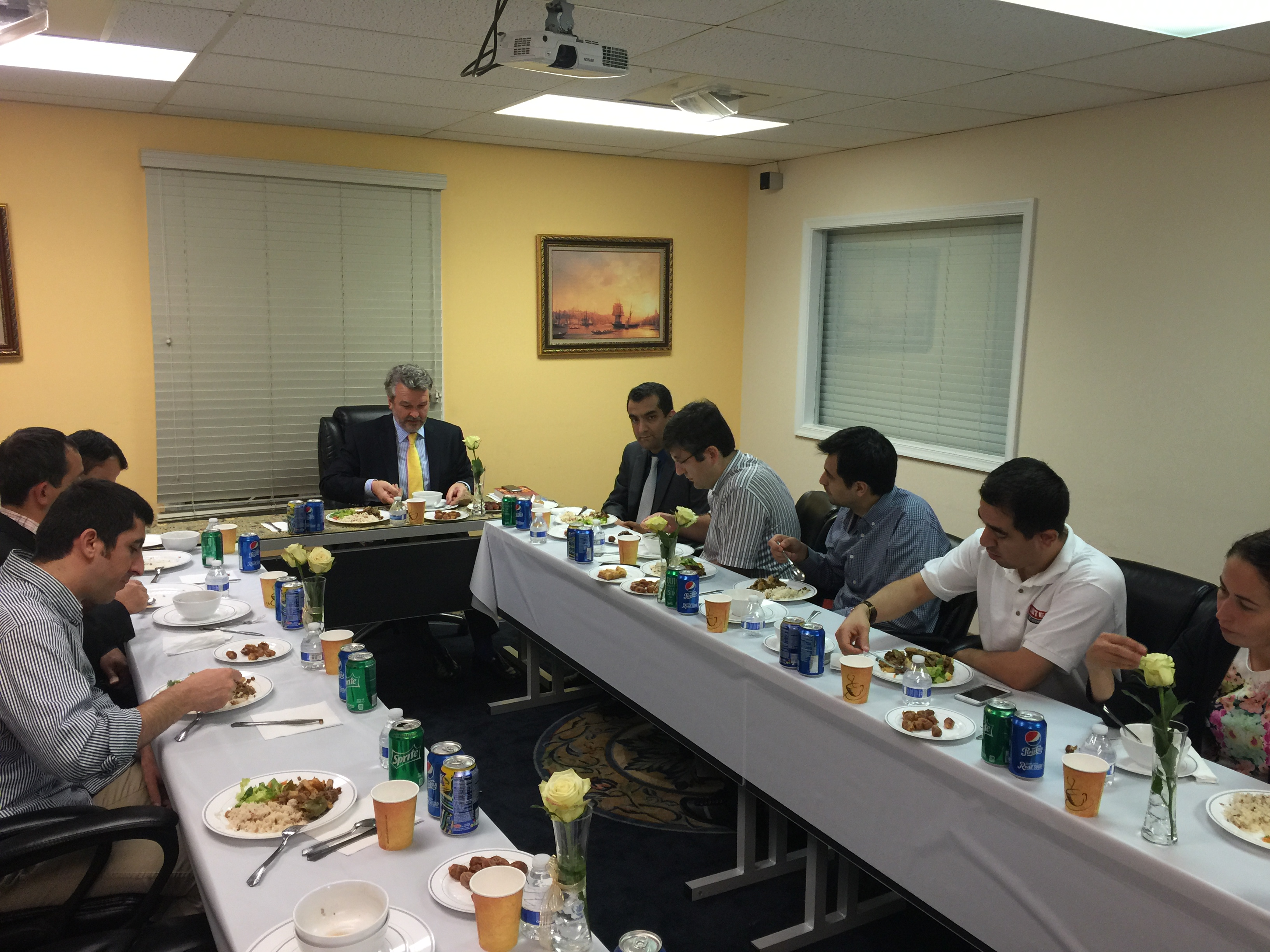 Iftar with Croatioa's Ambassador to US #Ramadan 2015