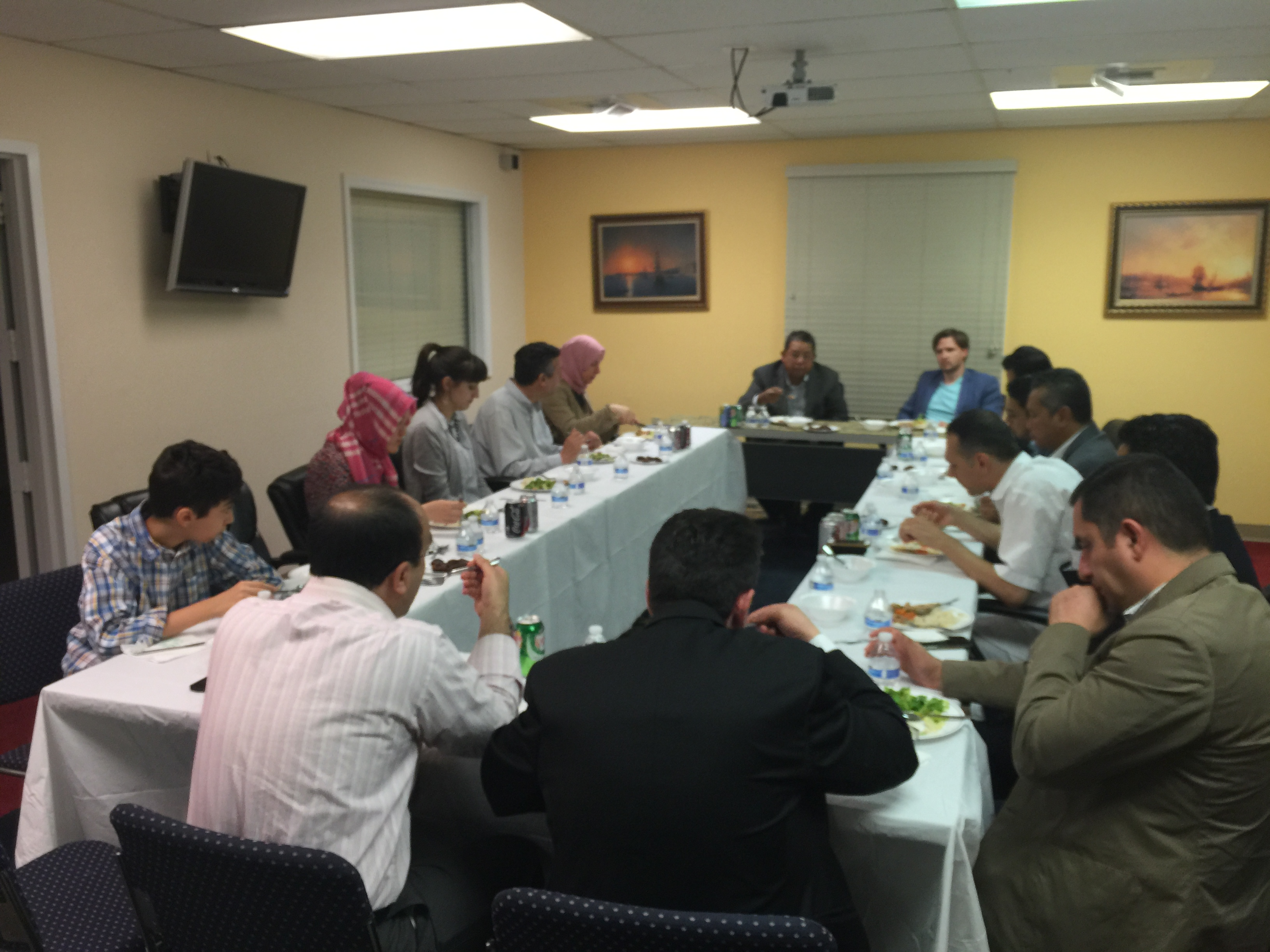 Iftar with Malaysia's Ambassdor to US Awang Adek #friendship
