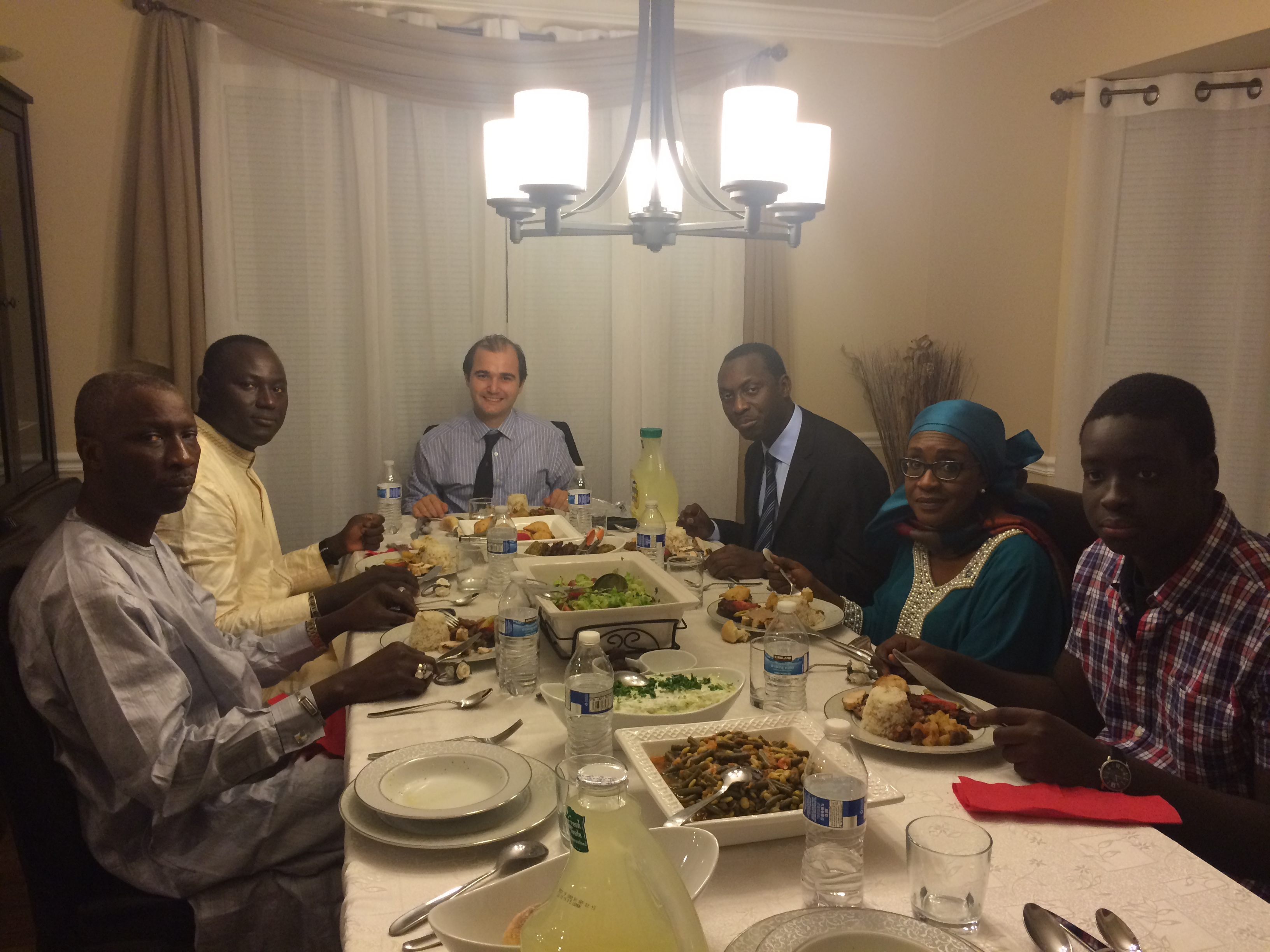 Iftar with Senegal's Ambassador to US #friendship #dialogue