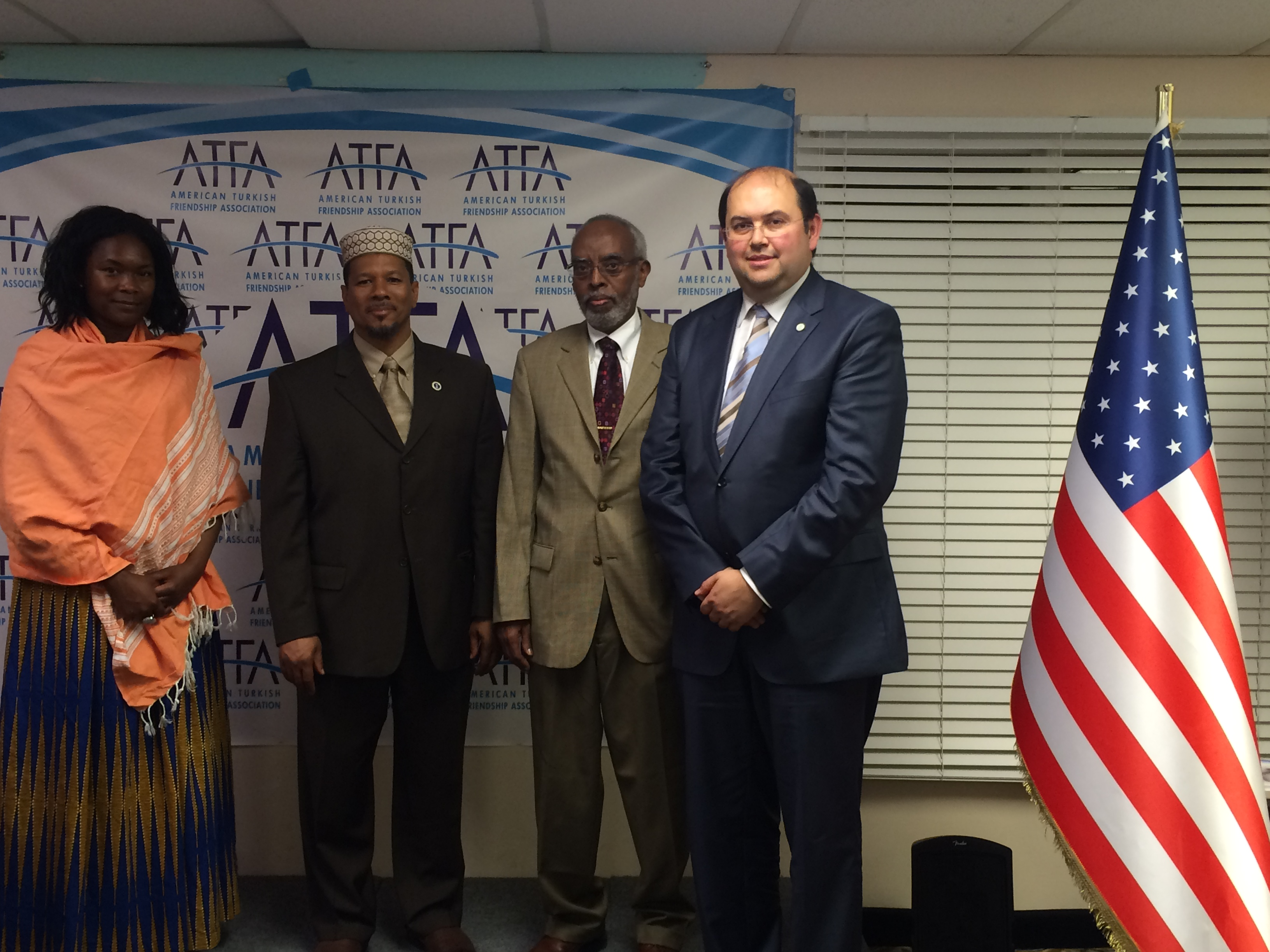 iftar with African-Turkish American Communities #friendship #dialogue