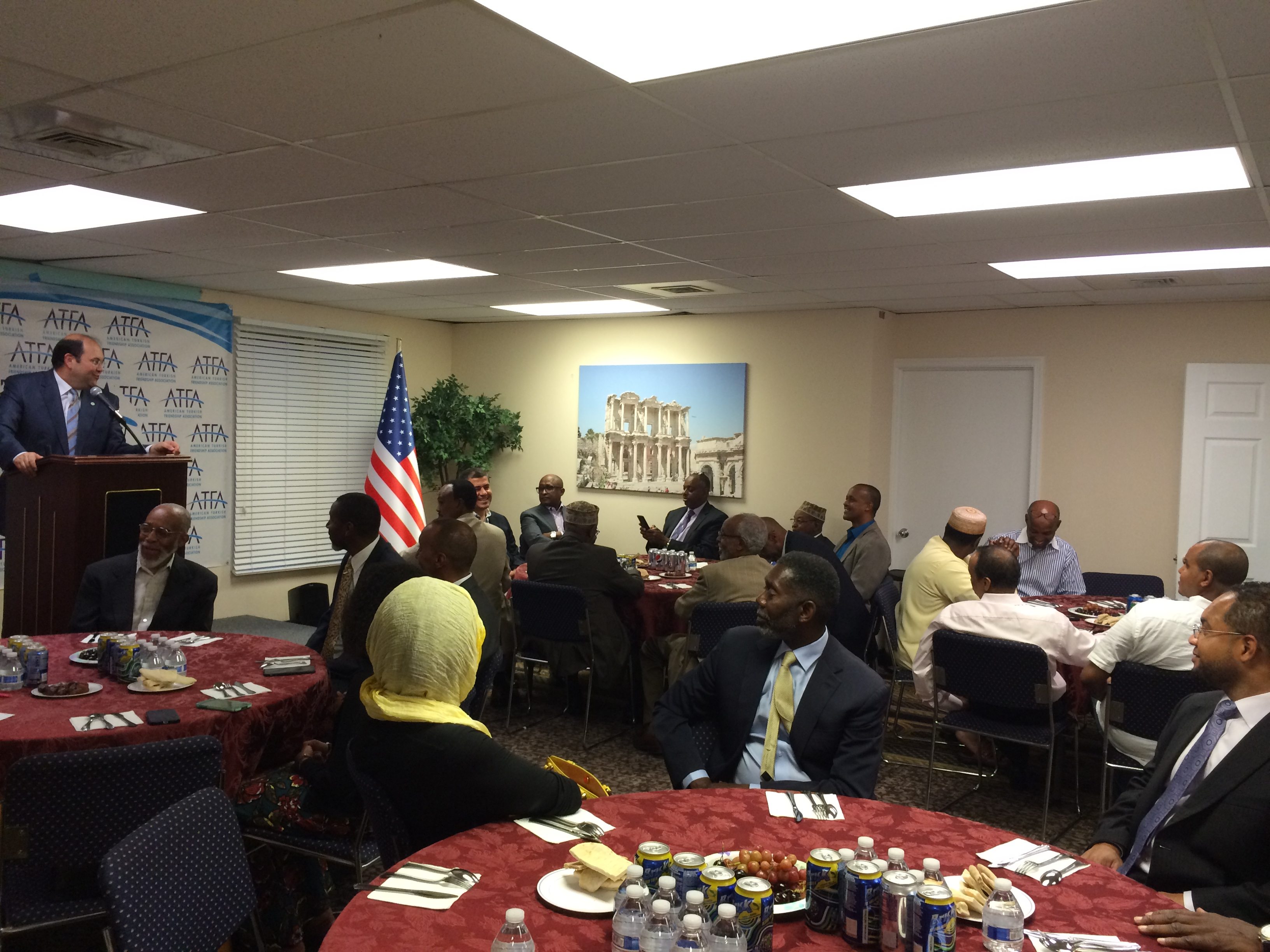 iftar with African-Turkish American Communities #friendship