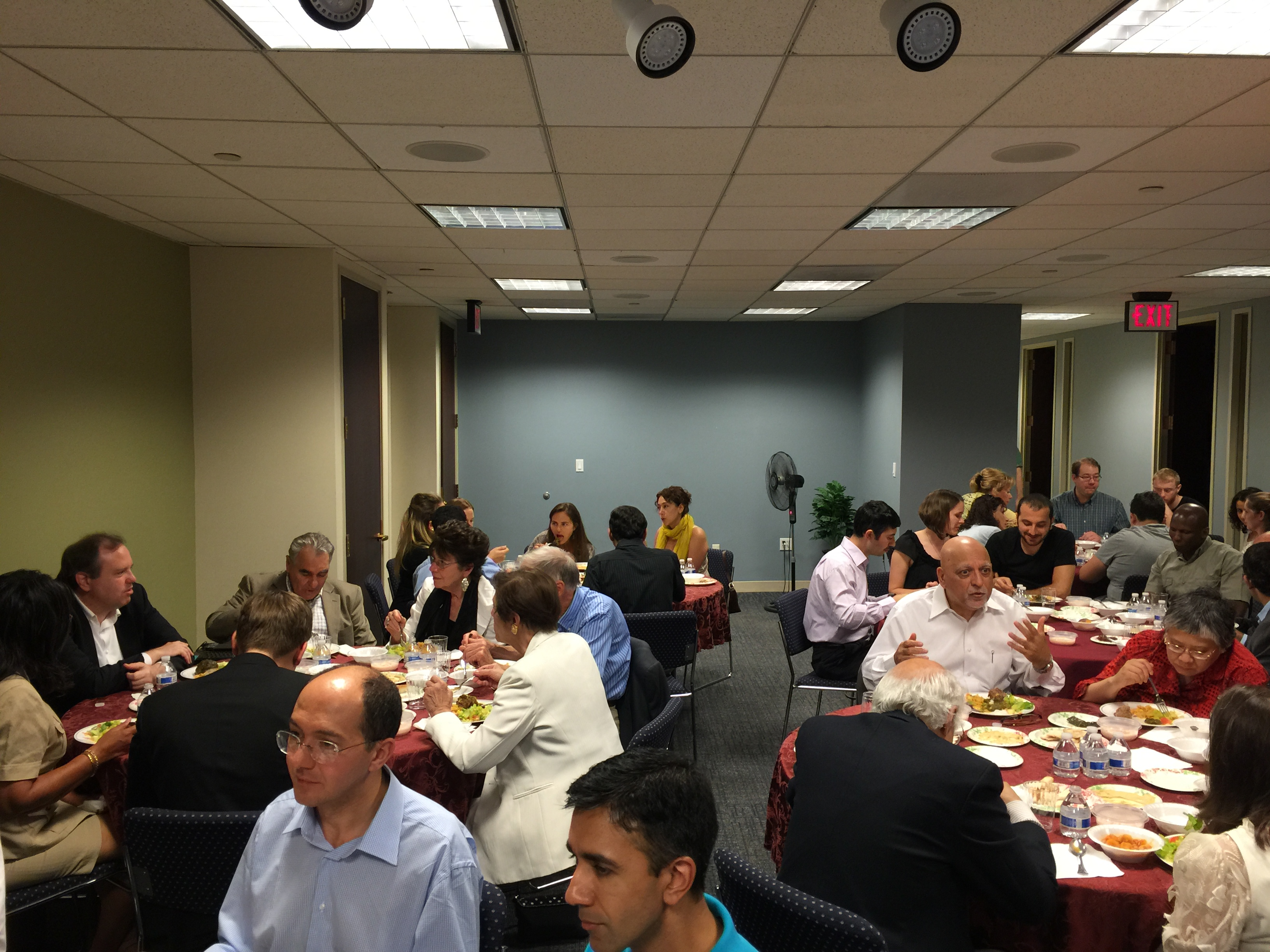 iftar with friends of Anatolia-full house! #dialogue #friendship #Turkey