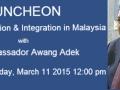 Malaysia-luncheon