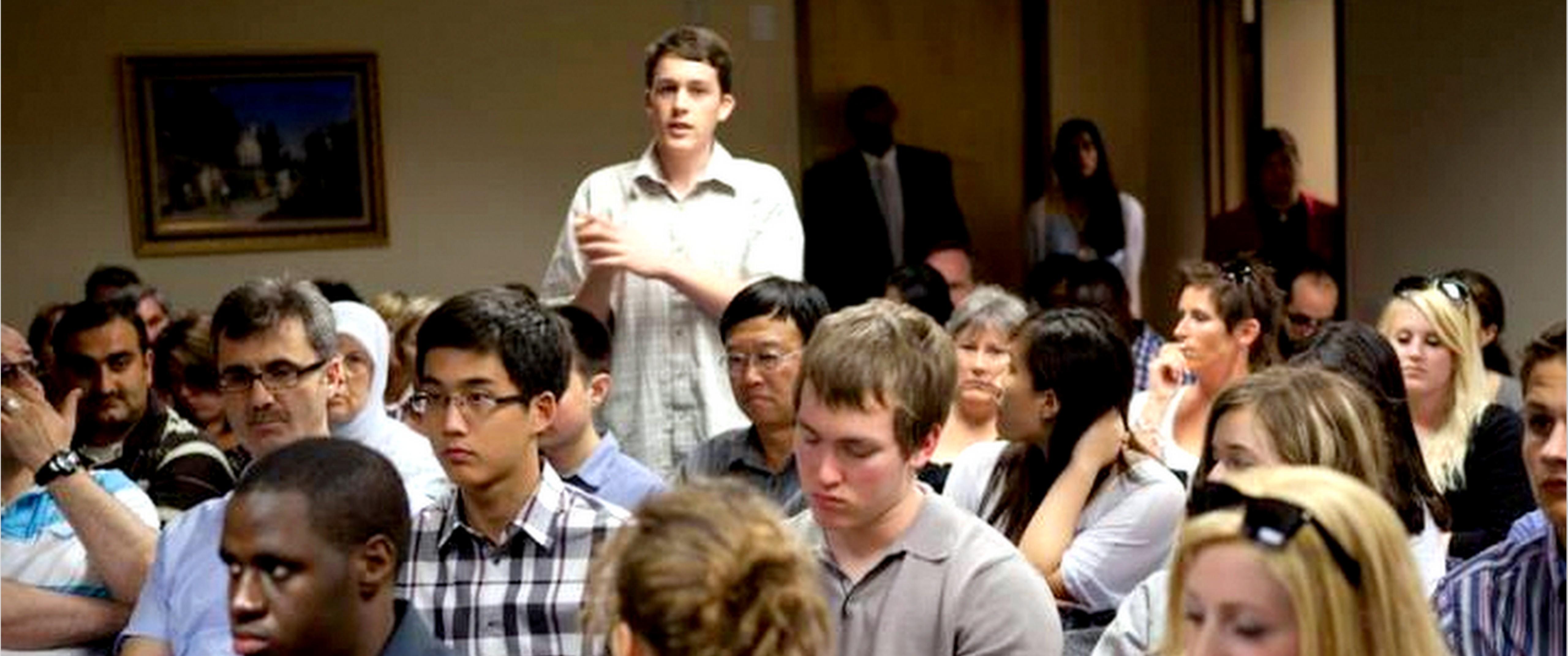 Youth Platform Award Ceremony--2012