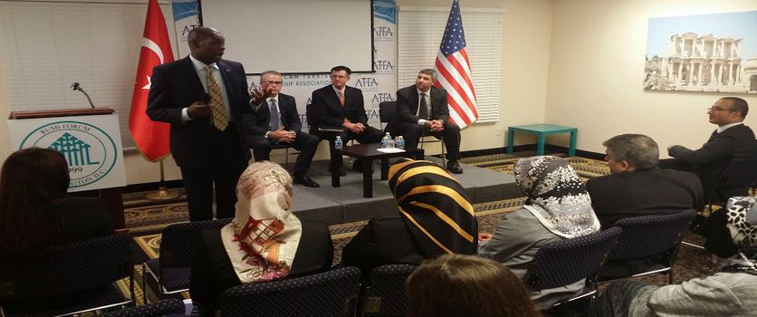 FBI Panel hosted by Rumi Forum on how to prevent #radicalization