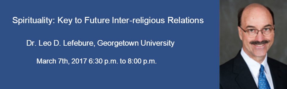Spirituality and Inter-religious Relations