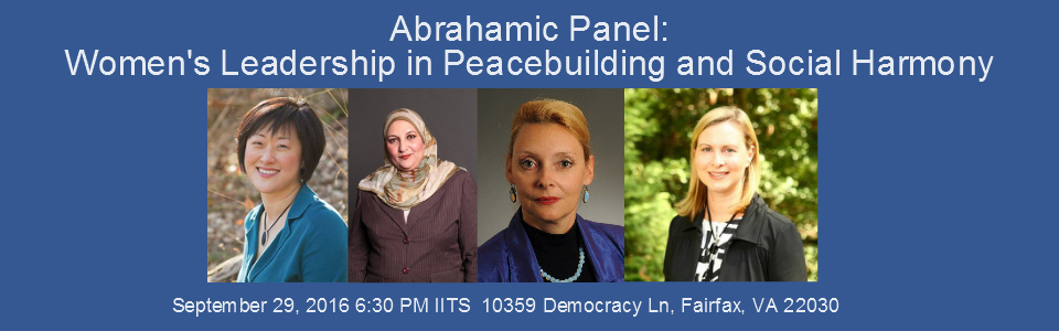 Abrahamic Panel: womens leadership in peacebuilding and social harmony