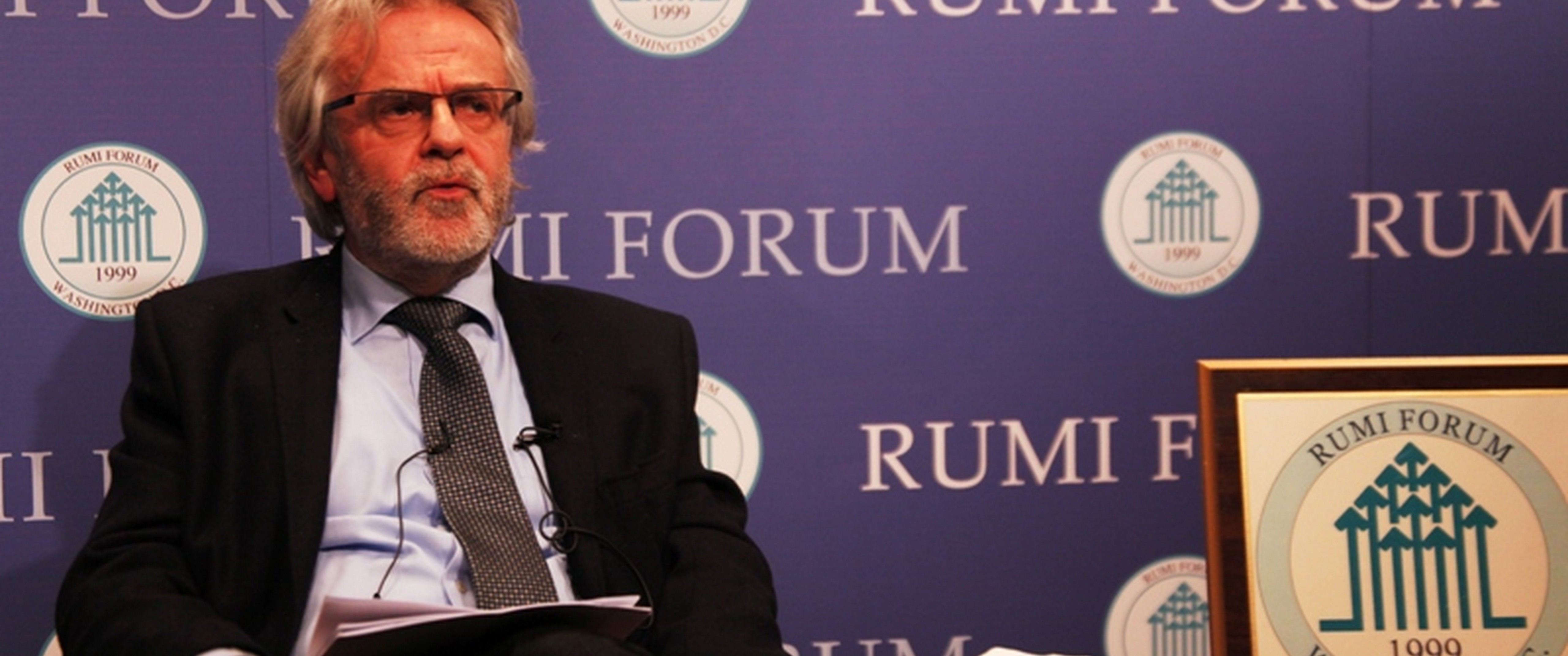 "Rainer Hermann presented his recent book ""Where is Turkey Headed?: Culture Battles in Turkey"" at the Rumi Forum. Turkey's domestic politics and foreign policy was covered during his talk."