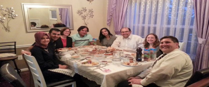 Home Iftar with President of Rumi Forum