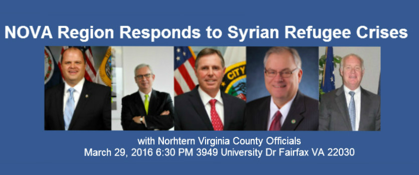 NOVA Region Responds to Syrian Refugee Crises