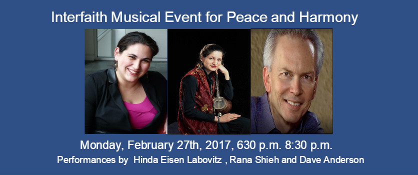 Interfaith Music Event