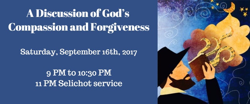 Interfaith Panel on Gods Compassion and Forgiveness