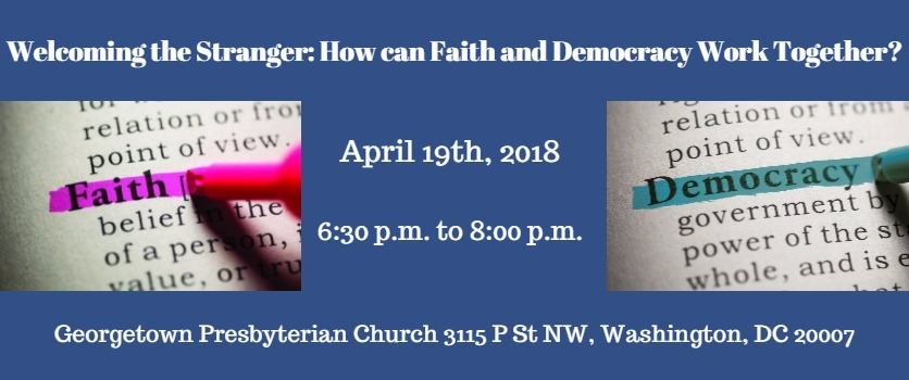 Welcoming the Stranger: How can Faith and Democracy Work Together?