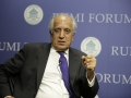 Ambassador Luman Faily of Iraq and Ambassador Zalmay Khalidzad discussing #Iraq (1)