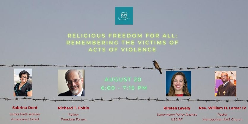 Religious Freedom for All Remembering the Victims of Acts of Violence