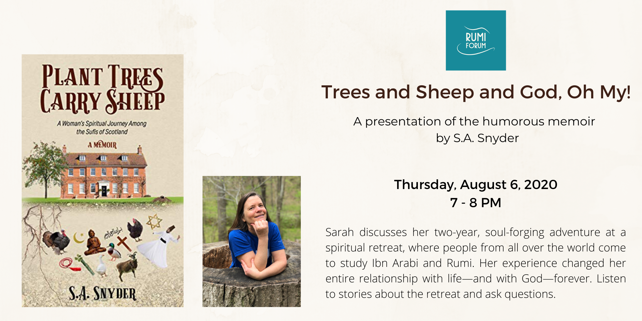Trees and Sheep and God, Oh My!