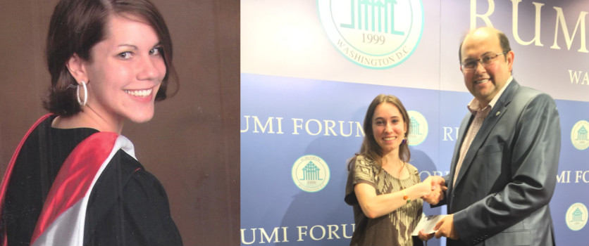 Mary Cole and Martine Gatena won the Hizmet Essay Contest 2014 in graduate and undergraduate categories respectively.