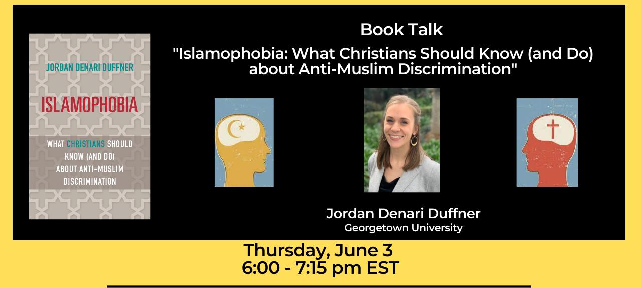 Book Talk: Islamophobia