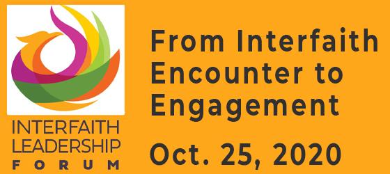 Inaugural Interfaith Leadership Forum-October 2020